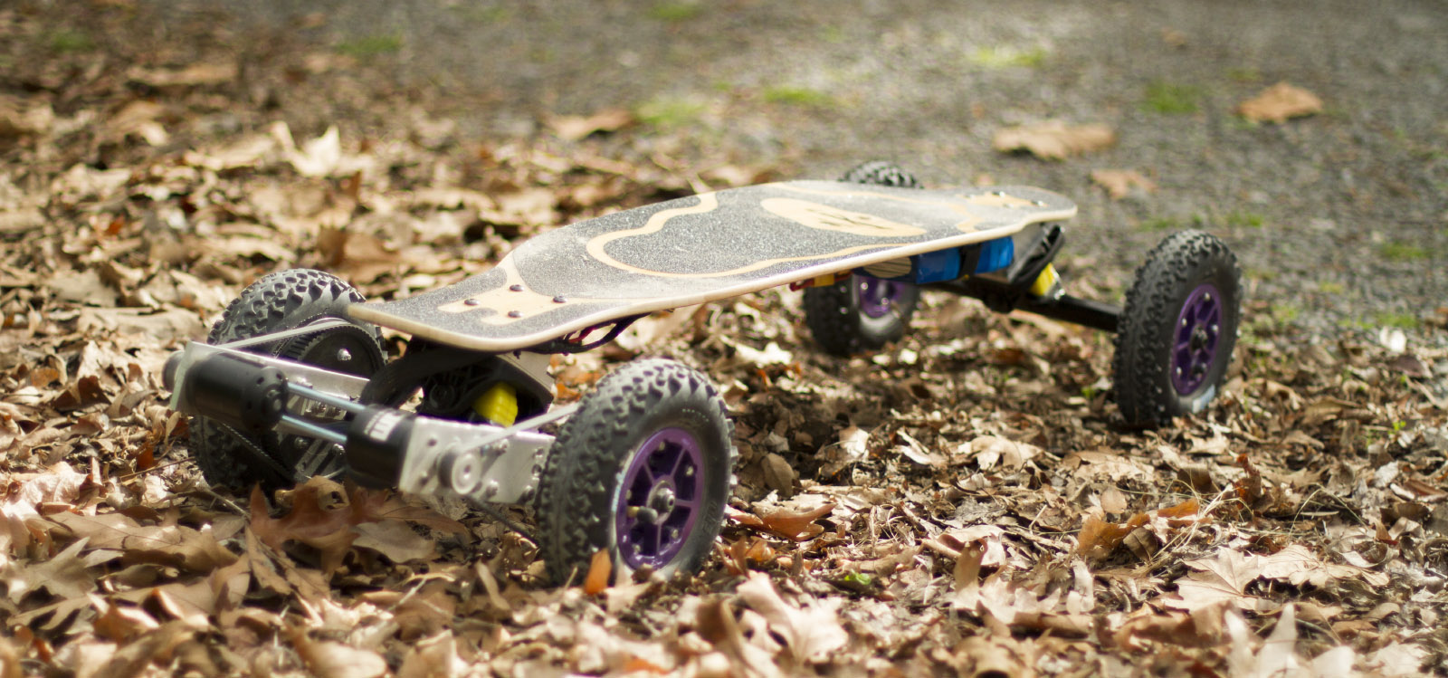 Building an All Terrain Electric Skateboard feature image